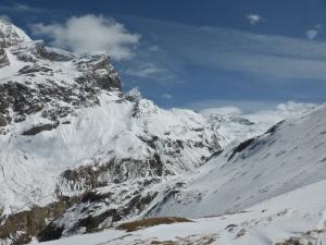 Vallonets, arriving above gorges de Malpasset