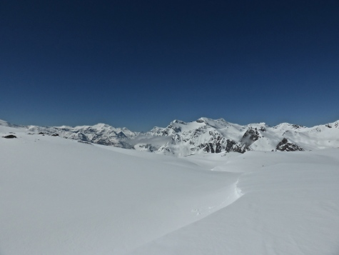 View from Pays Desert towards Maurienne