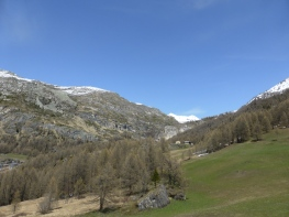 From Le Fenil, looking back