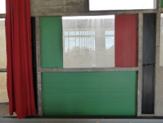 Le Corbusier's measurement unit, Modulor, even shapes the size of wall panels