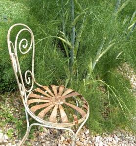 Maison Tupinier: the garden