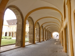 Cluny: the 17th century cloisters
