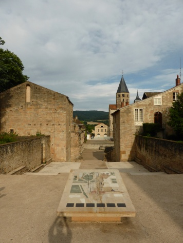 Cluny: the old narthex