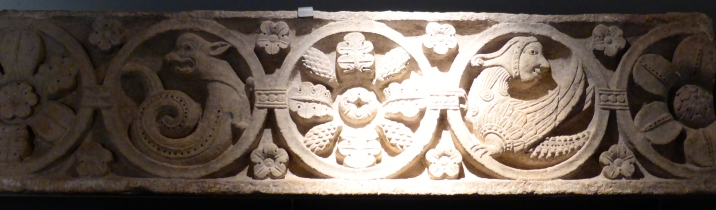 Palais Jean the Bourbon: carvings from the monastery