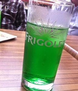 Annecy, refreshing diabolo menthe, not mouthwash