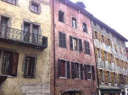 Annecy, old houses