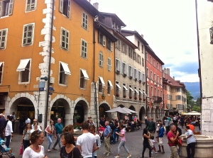 Annecy, Rue Royale