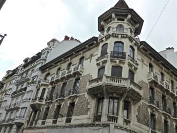 Annecy, 19th century savoyard city architecture