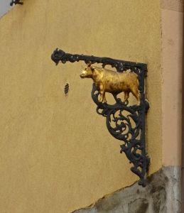 Annecy, old shop sign