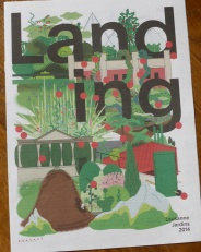 Leaflet for Lausanne's Garden Month