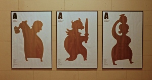 Posters for the archeological museum