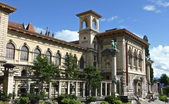 Lausanne's Beaux Arts museum