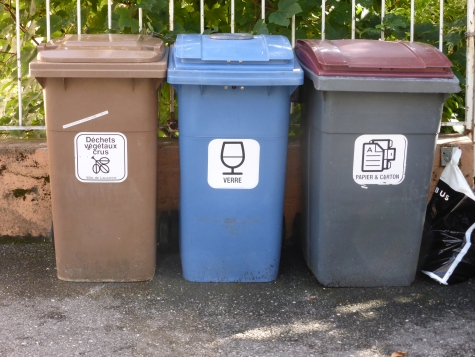 Recycling in Lausanne