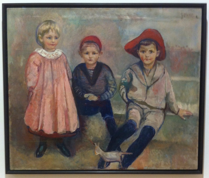 Munch, portrait of Ludvig Meyer's children