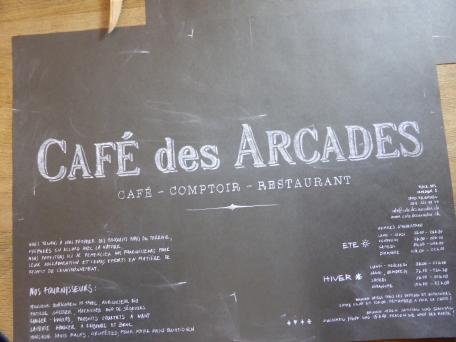 Fribourg, Cafe des Arcade