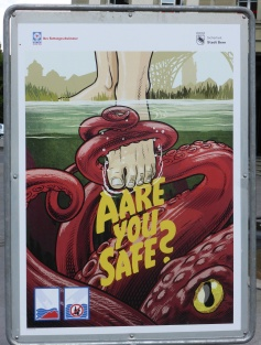 You could inadvertently tread on an octopus in Bern, apparently