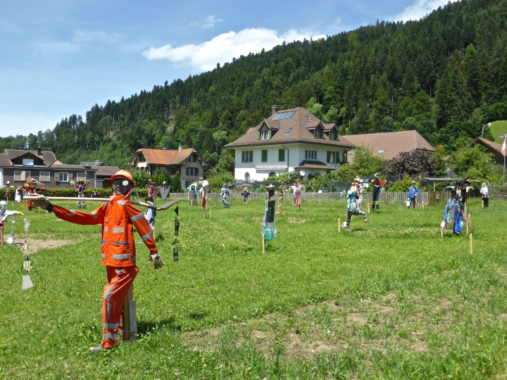 Scarecrow nation: installation in Trubschachen