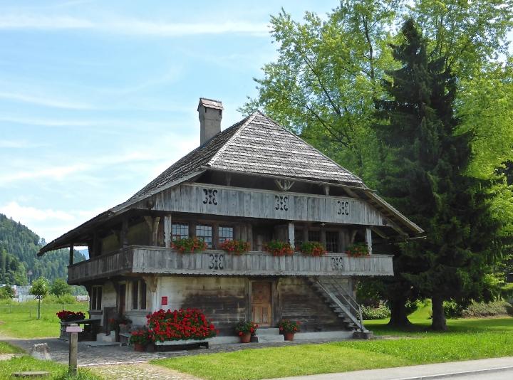 Heimat, sweet Heimat: one of the farms making up the traditions museum