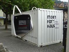 Feldkirch: the show container for the new cultural centre
