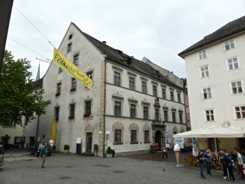 Feldkirch: Palais Lichtenstein, now tourist office and library