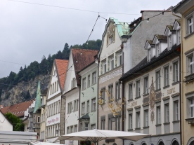 Feldkirch: houses on market square