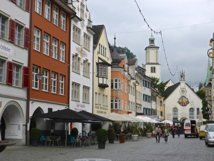 Feldkirch: the picturesque market square