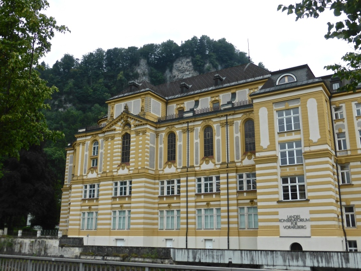 Feldkirch: the former monastery, now the region's music school