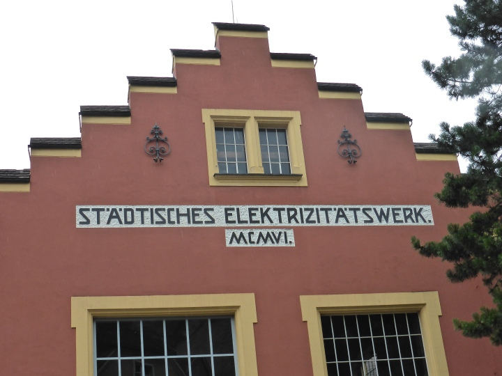 Feldkirch: the 1906 electricity substation