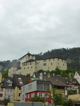Feldkirch: the Schatten castle dominating the old town