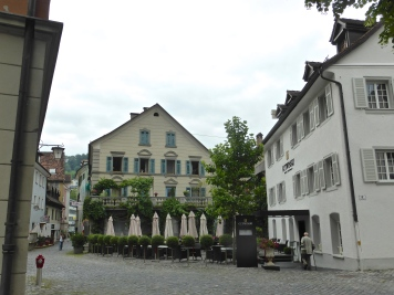 Feldkirch: the Gutwinsky hotel, where we stayed