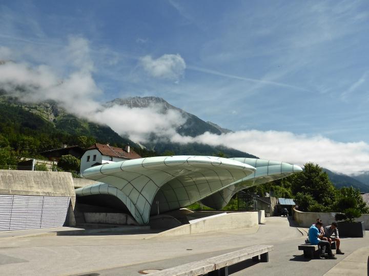 Spaceship landed: Zaha Hadid's Hungerburg station