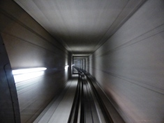 Be square: Hungerburg funicular tunnel