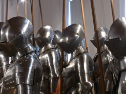 Schloss Ambras: the armoury room