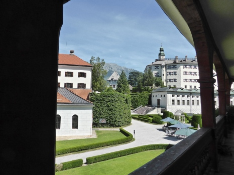 Schloss Ambras: view over the courtyard