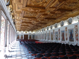 Schloss Ambras, old castle: Spanish hall