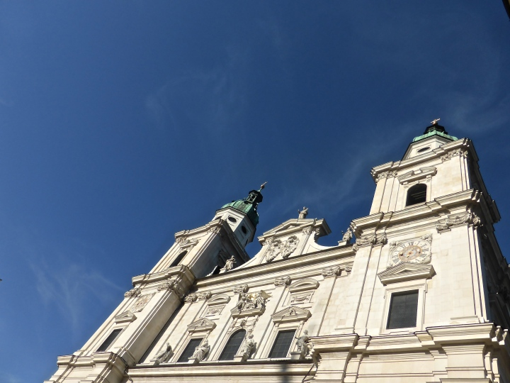 High and mighty: St Rupert's facade