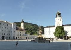 Salzburg's main square