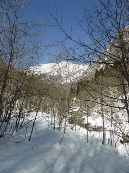 Vallée des chapieux: on the way to Praz Bozon
