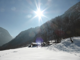 Praz Bozon: the quietest lunch break under the bluest sky