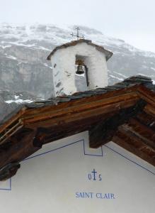Le Monal: the chapel