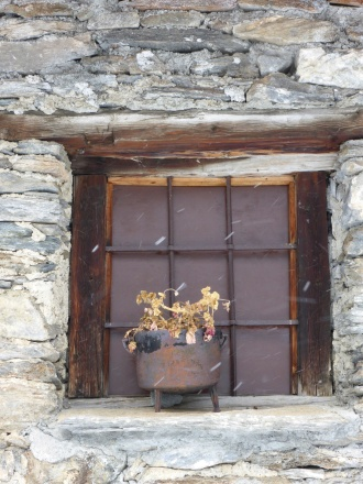 Window at Le Monal