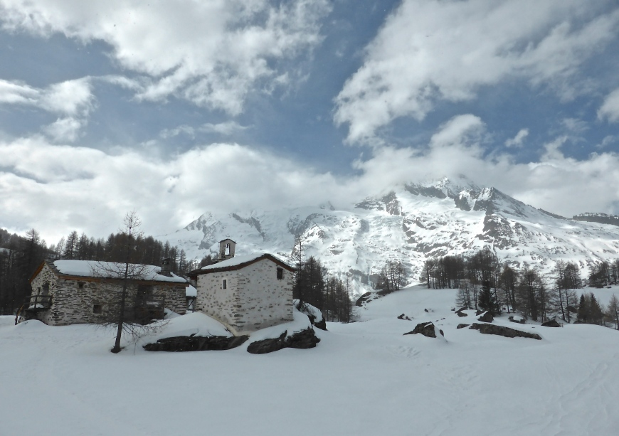 Le Monal: winter wonderland, for real