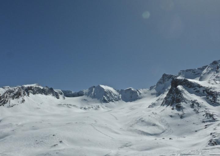 The Lechoir, below the Col Pers glacier