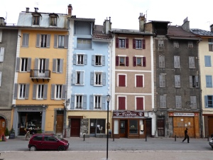 Old Barcelonnette: Place Saint Pierre