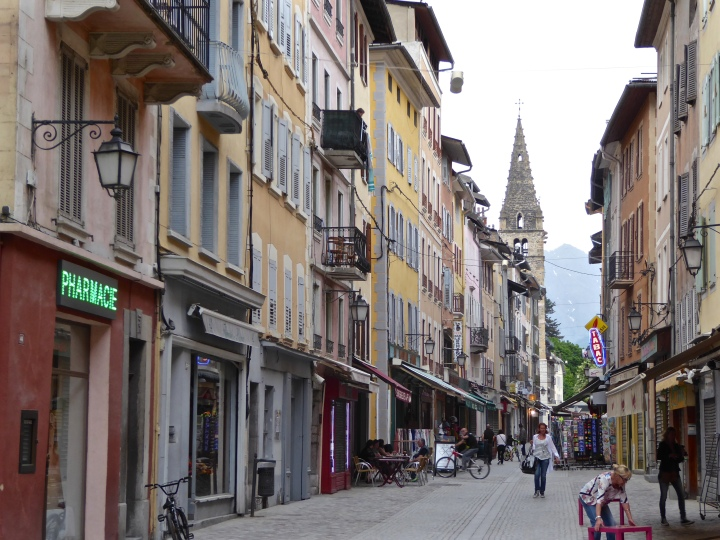 Rue Manuel, in the old town centre