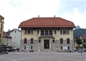 Barcelonnette 1930s town hall