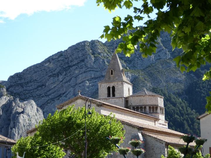 Sisteron: the Romanesque church