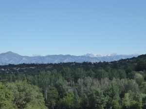 Northward: the foothills of the Alps and beyond
