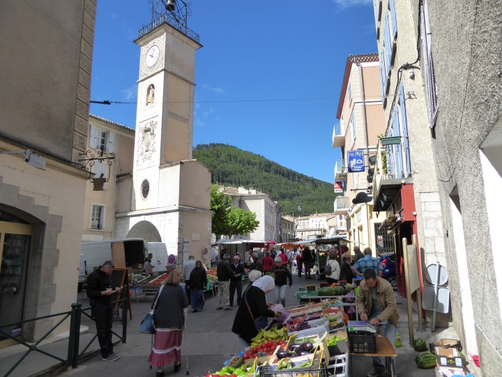 Market day in Sisteron