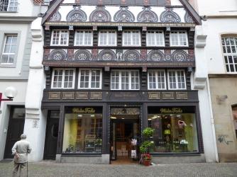 Osnabrück: old timbered house